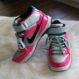 NIKE AIR Women's Pink/Gray/Mint Hightops